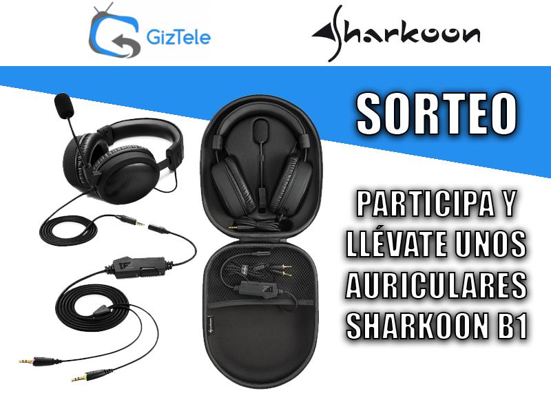 SORTEO: Auriculares Sharkoon B1