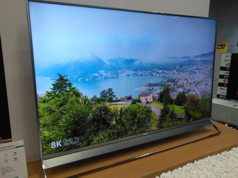 Los televisores 8K llegarán en verano