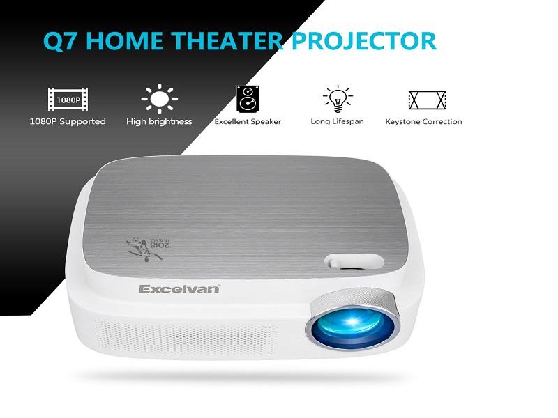 Excelvan Q7, un proyector LCD en oferta para disfrutar del Mundial