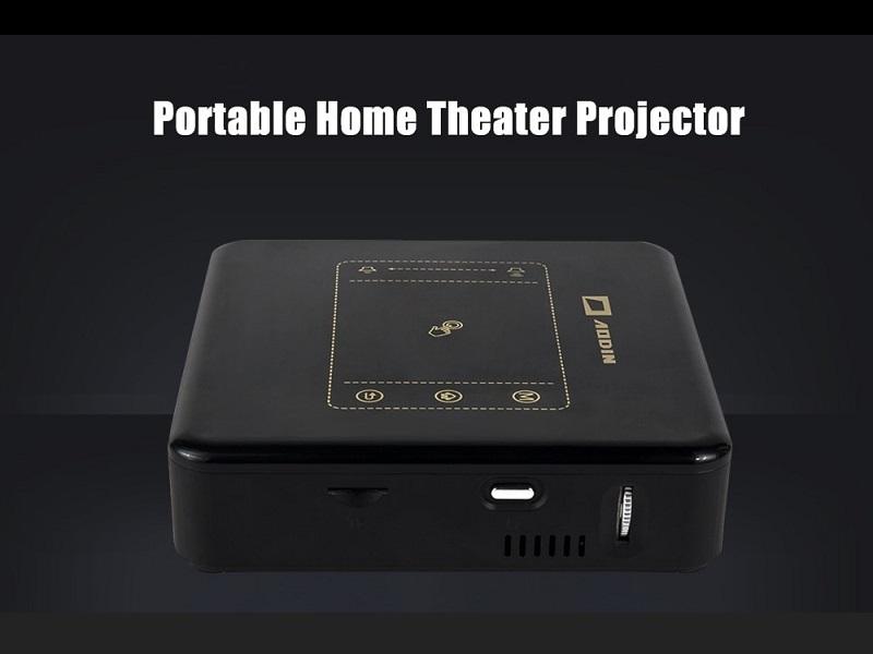 AODIN D013, otro pequeño y barato proyector portátil con Android