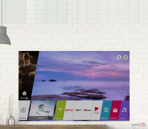 Esta es la plataforma webOS