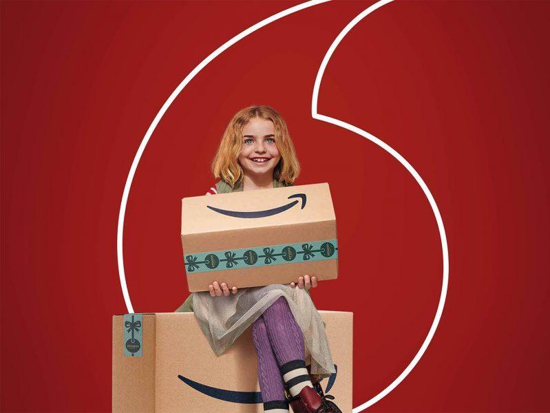 Amazon Prime gratis en Vodafone como regalo de Navidad