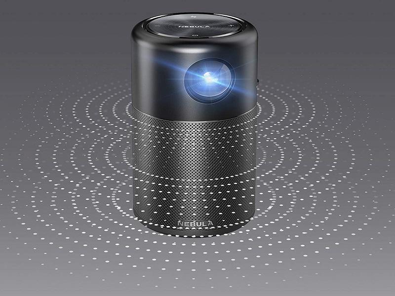 Anker Nebula Capsule, un mini proyector que funciona como altavoz