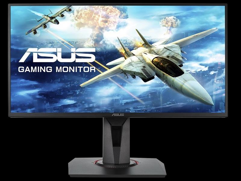 Asus VG258QR, un monitor gamer con un tiempo de respuesta de 0,5 ms