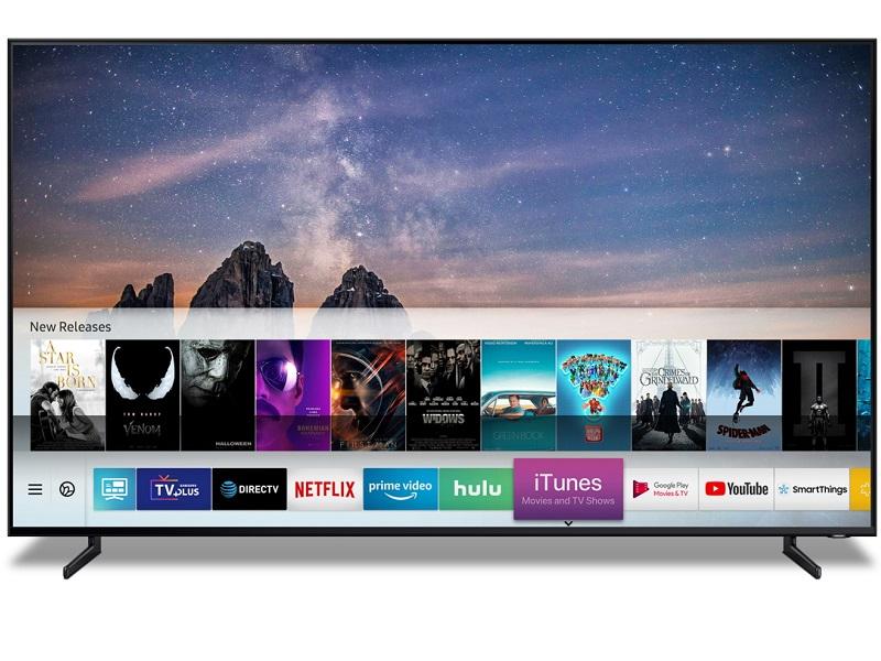 #CES19: Los televisores Samsung 2019 llegarán con iTunes y AirPlay 2