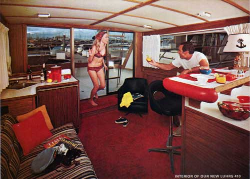 Luhrs Super 360 And 410 Yachts 1973 Bangor Punta Archives