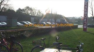 … og SÅ åbnede den nye Eurospar i Gjern. Tillykke!