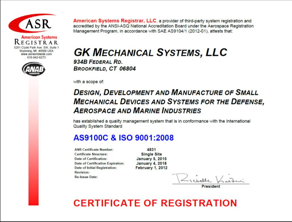 QA-Certification