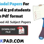 BA Model Papers