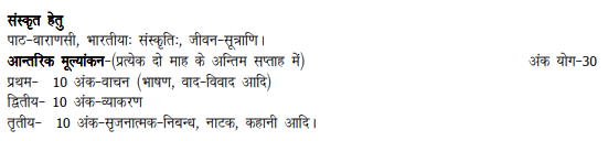 UP Board 10th Primary Hindi Syllabus
