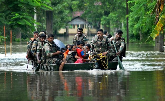 bihar floods news in hindi alert