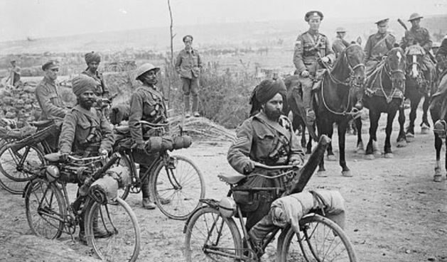 contribution of our Indian soldiers in World War I