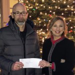 Teena Miller and Attorneys at GKT Donate Check to Helping Heroes