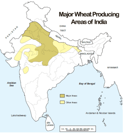 Major Crops of India - GKToday