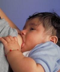 breastfeeding child