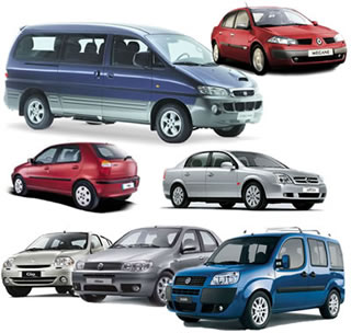 wide sdelection of vehicles for hire