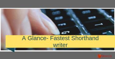 Fastest shorthand writer- Dr. Gopal Dutt Bisht