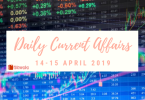 Daily Current Affairs GK Questions 14-15 April 2019