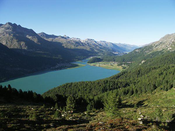 Le lac de Silvalpana, héritage de l'ancien glacier de l'Inn©F Amelot