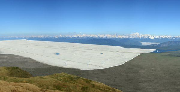 Le bassin lémanique et la région genevoise au dernier maximum glaciaire ©CNM