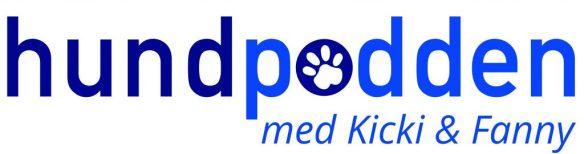 Hundpodden med Kicki & Fanny - logga