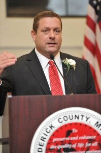County Commissioner Kirby Delauter