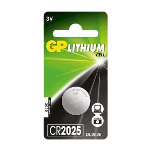 GP Lithium Coin CR2025