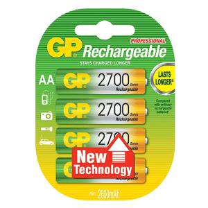 GP NiMh Rechargeable AA 2700Mah