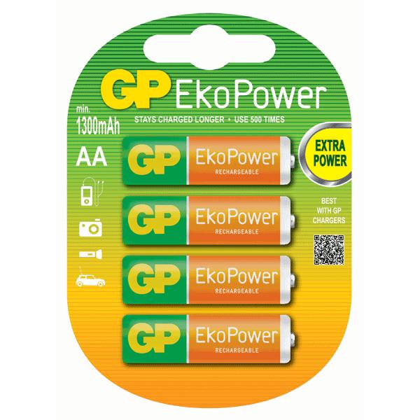 GP EKO Power Rechargeable AA