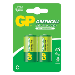 GP Greencell Carbon Zinc C-Size