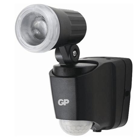 GP Outdoor Sensor Light RF-1 Black