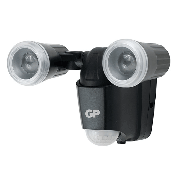 GP Outdoor Sensor Lights RF-2 Black