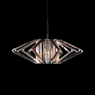 Basik Columba Crystal Pendant Clear Honey