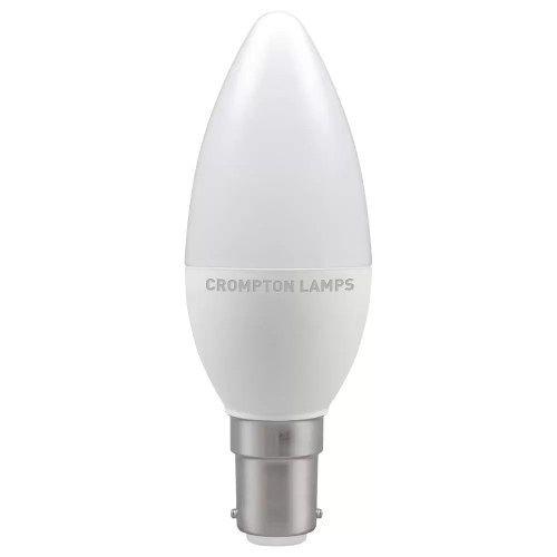 LED Candle Thermal Plastic Non-Dimmable SBC