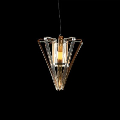 Basik Trappist Crystal Pendant Clear Honey