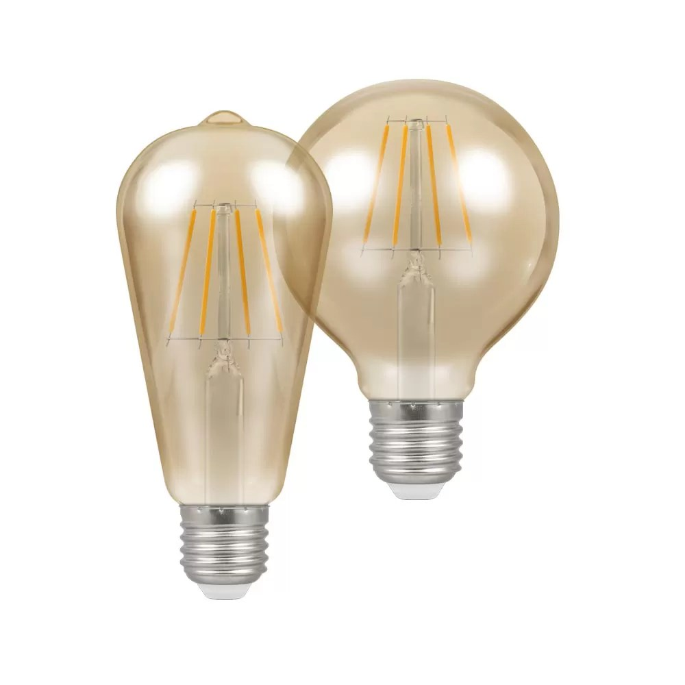 LED Filament Antique Bronze Dimmable E27