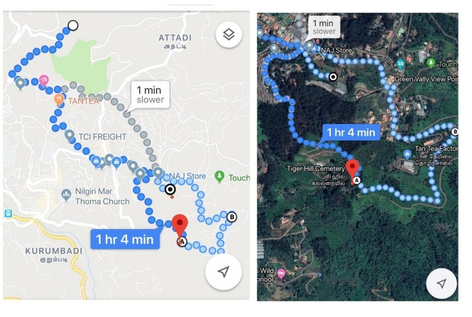 Tiger hill cemetery hike coonoor
