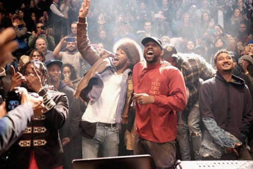 Kanye-West-album launch