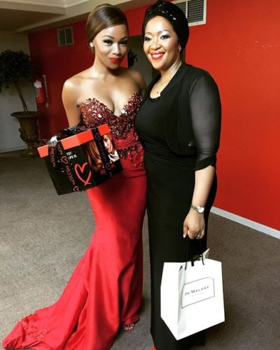 Bonang With The First Lady of South Africa