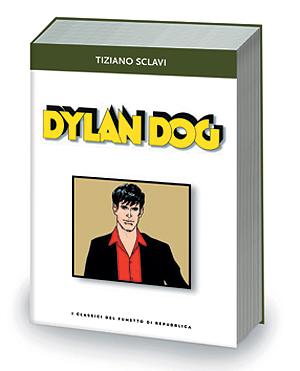 La copertina del volume su Dylan Dog in uscita il 21/3/2003
