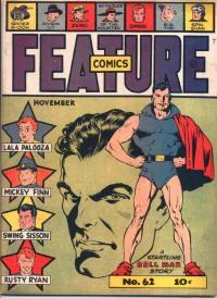 Feature Comics #62 con Dollman