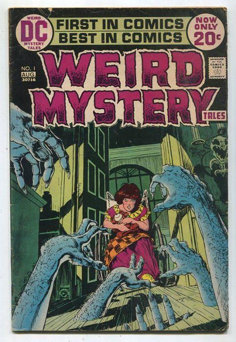 copertina di WEIRD MYSTERY TALES n.1