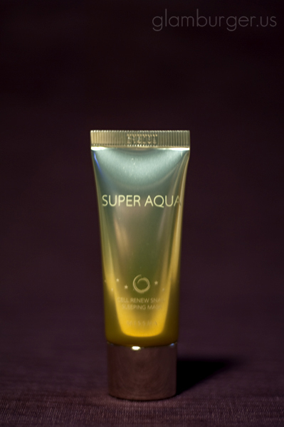 Review: Missha Super Aqua Cell Renew Snail Cream and Sleeping Mask ...