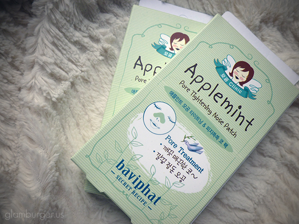 Baviphat Applemint Pore Tightening Nose Patch