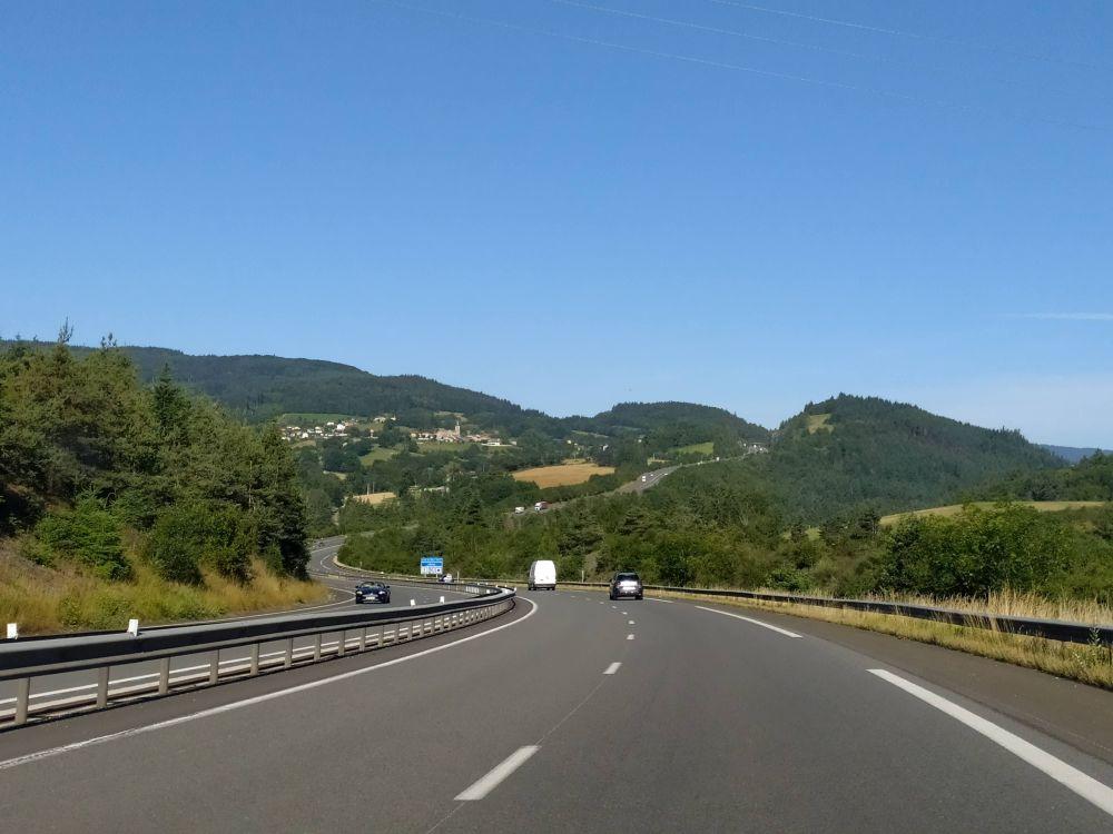 Autostrada in Francia