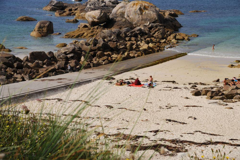 Meneham spiaggia Bretagna