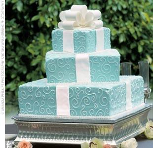 Wedding cake tiffany