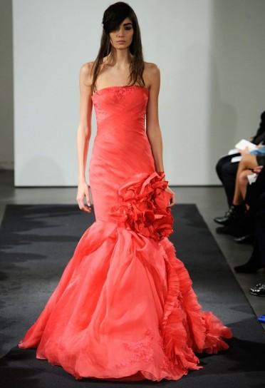 abito da sposa rosso