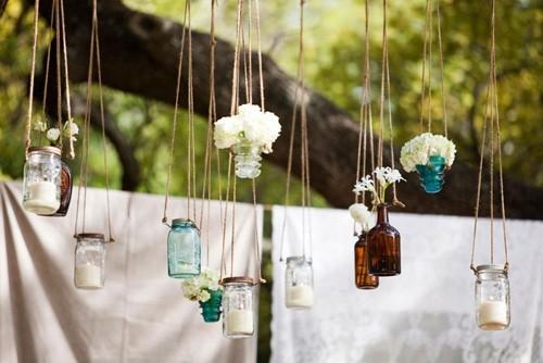 bottiglie porta fiori