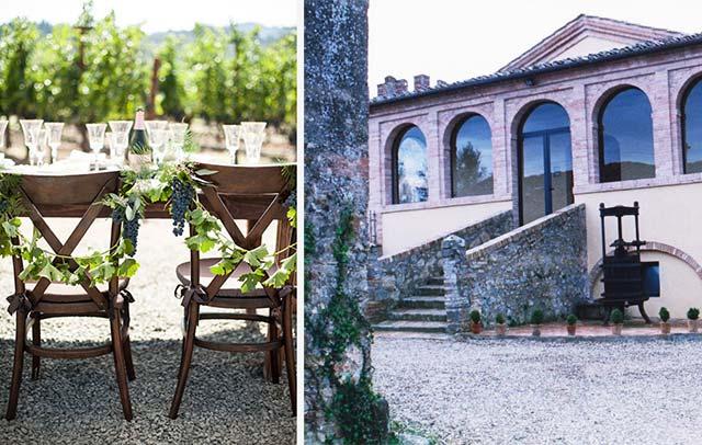 location cantine tema vino